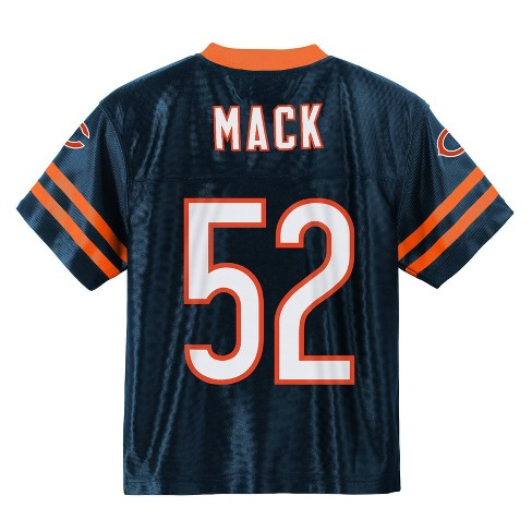 online store d5b99 d2bfd NFL Chicago Bears Boys' Mack Khalil Jersey - XS