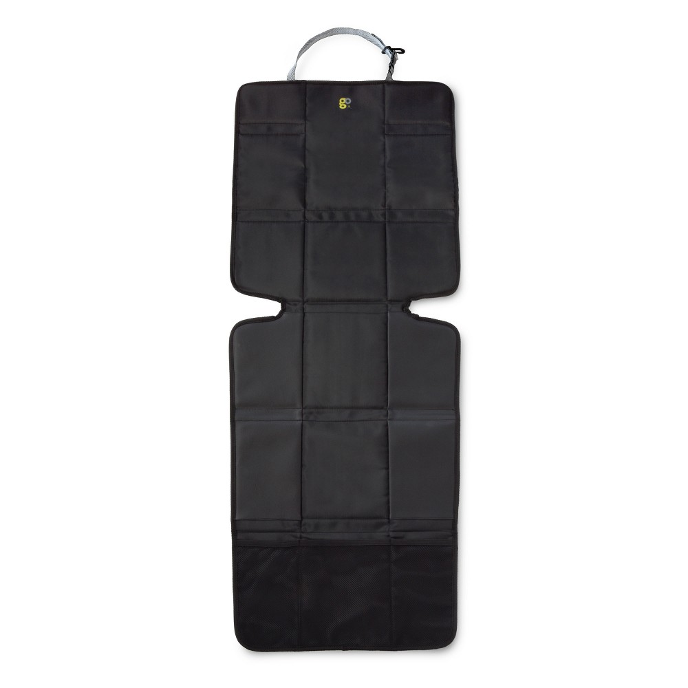 GO by Goldbug Deluxe Car Seat Protector, Black
