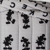 Mickey Mouse & Friends Mickey Mouse Twin Comforter Gray - image 4 of 4