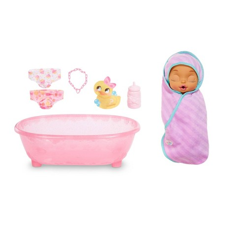 Baby Born Surprise Bathtub Surprise Purple Swaddle with Bow - image 1 of 4