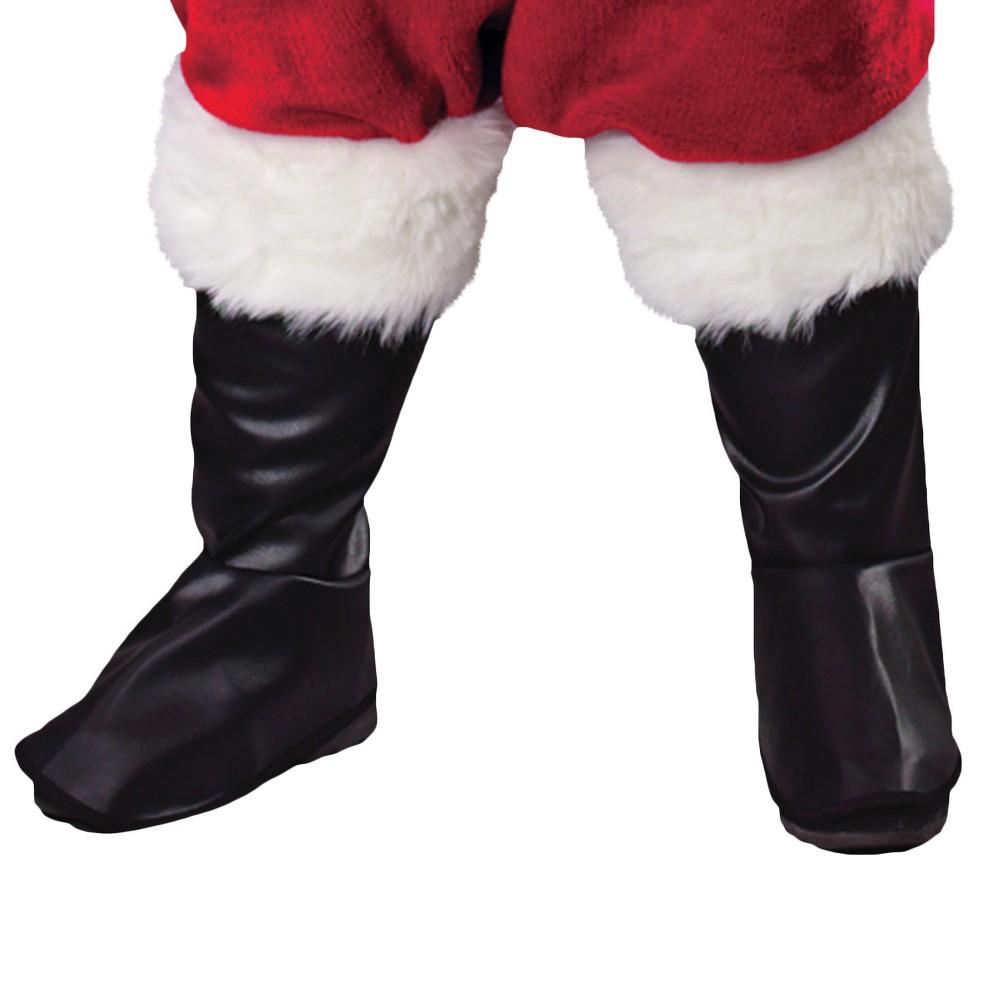 Santa Boot Tops Costume, Men's, Multi-Colored