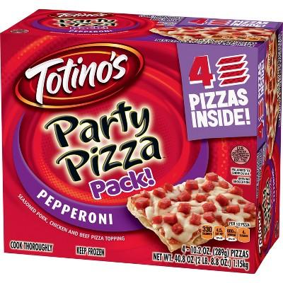 Totino's Pepperoni Frozen Party Pizza - 40.8oz/4pk