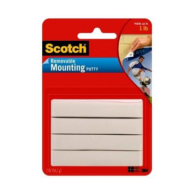 Scotch 2oz Removable Mounting Putty