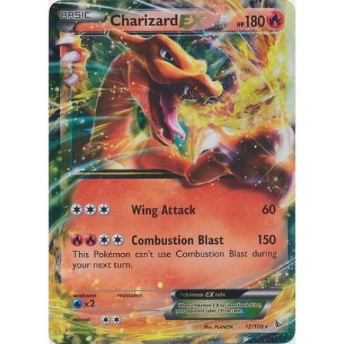 Pokemon X and Y Flashfire Ultra Rare Holo Charizard EX #12 - image 1 of 1