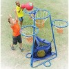 Children's Factory 4 Ring Basketball Stand With Storage Bag - image 4 of 4