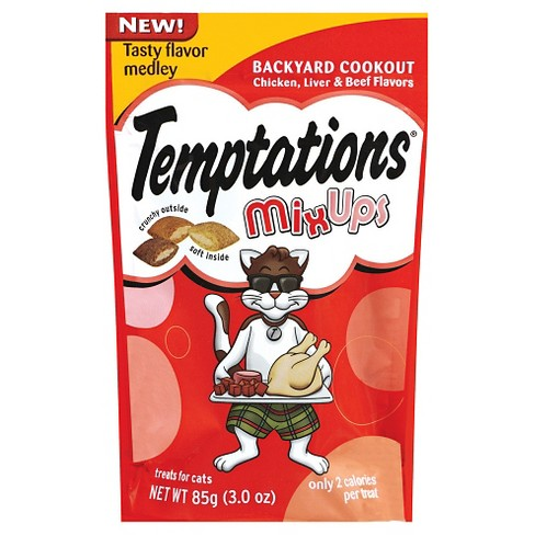 Temptations® MixUps Treats for Cats Backyard Cookout Flavor - 3oz - image 1 of 3