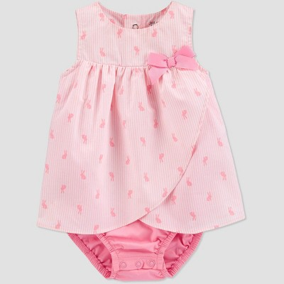 Baby Girls' Bunny Romper - Just One You® made by carter's Pink 12M