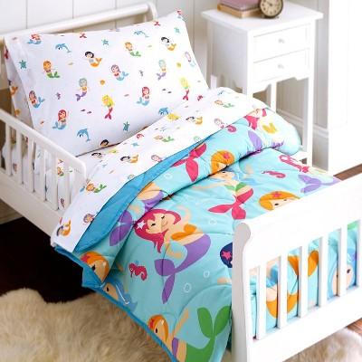 4pc Toddler Mermaids Microfiber Bed in a Bag - WildKin