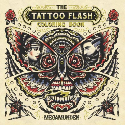 - The Tattoo Flash Coloring Book - (Paperback) : Target