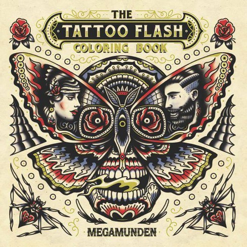 The Tattoo Flash Coloring Book - (Paperback) : Target