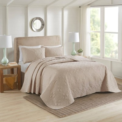 Glen Reversible Bedspread Set