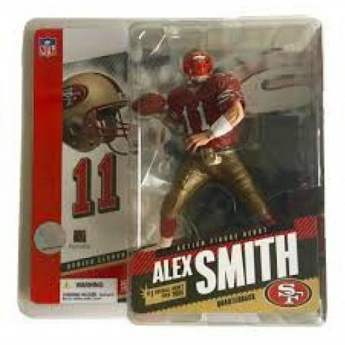 McFarlane Toys NFL San Francisco 49ers Sports Picks Series 11 Alex Smith Action Figure [Red Jersey] - image 1 of 1