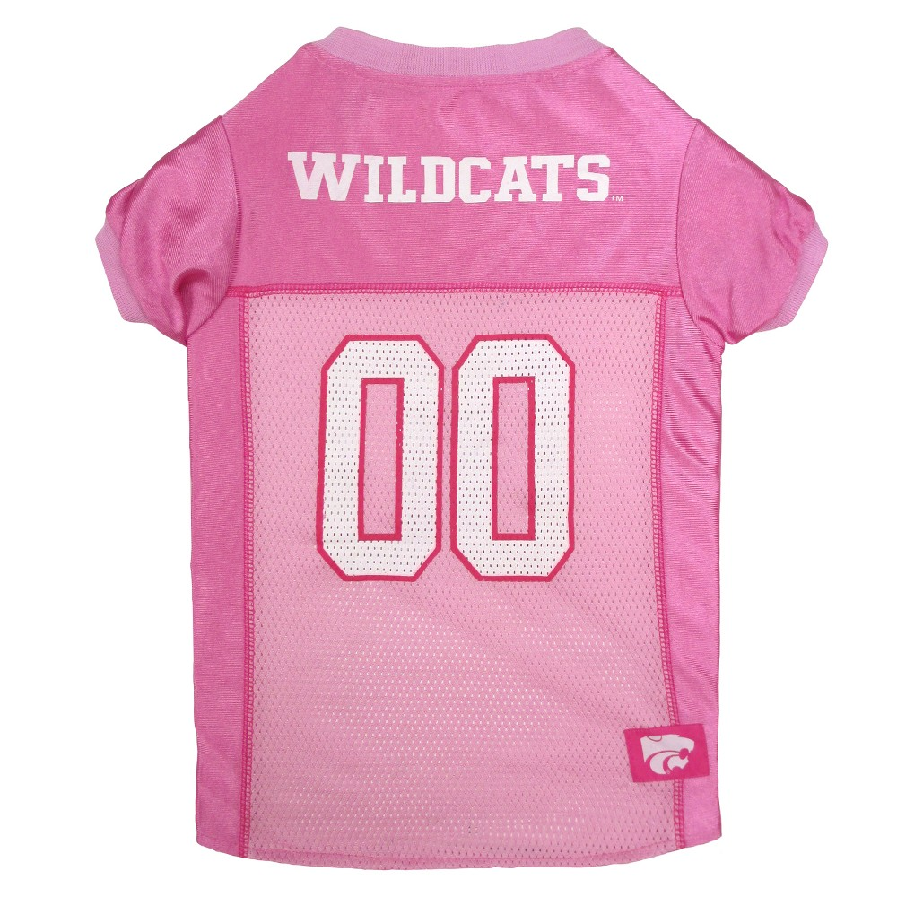 Pets First Kansas State Wildcats Pink Jersey - L, Multicolored