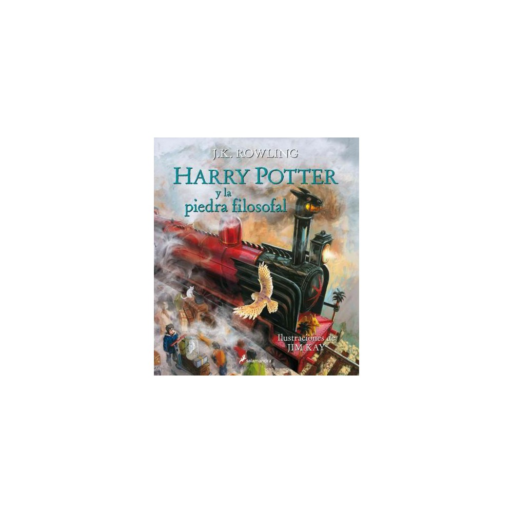 Harry Potter y la piedra filosofal/ Harry Potter and the Sorcerer's Stone (Illustrated) (Hardcover) (J.
