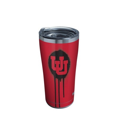 NCAA Utah Utes 20oz Graffiti Stainless Steel Tumbler