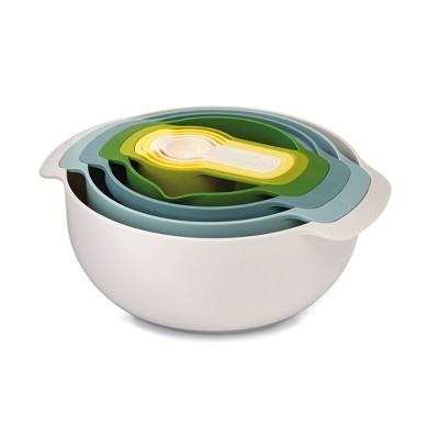 Joseph Joseph Nest 9pc Nesting Bowl Set Opal