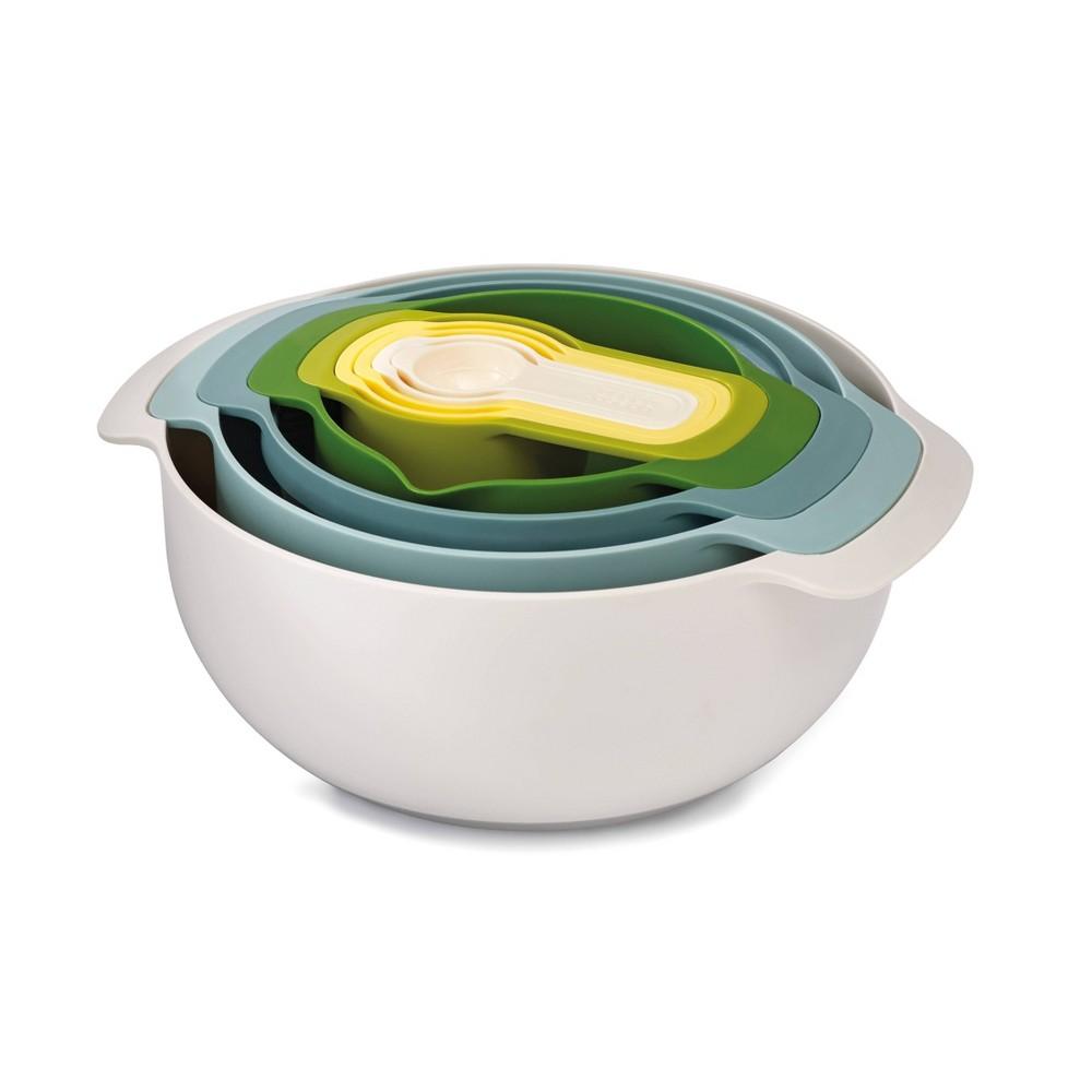 Image of Joseph Joseph Nest 9pc Nesting Bowl Set Opal