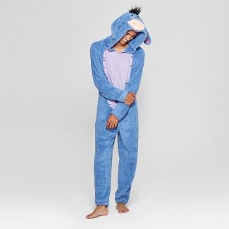 Men's Winnie the Pooh Eeyore Union Suit - Blue S