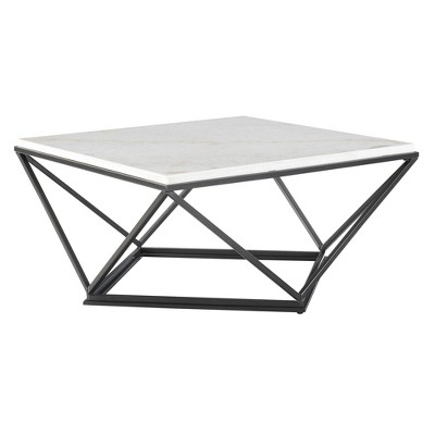 Conner Square Coffee Table White - Picket House Furnishings