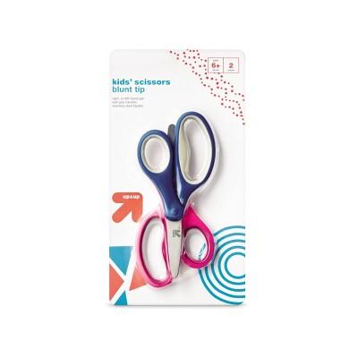 2ct Kids' Scissors Blunt Tip Pink/Blue - up & up™