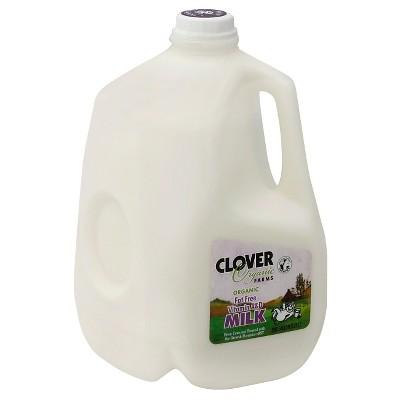 Clover Organic Farms Skim Milk - 1gal