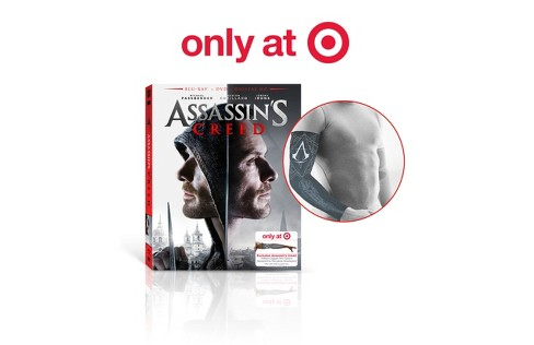 Assassin's Creed - Target Exclusive (Blu-ray + DVD + Digital) - image 1 of 1