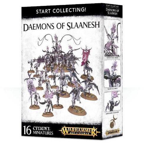 Age of Sigmar Start Collecting - Daemons of Slaanesh Miniatures Box Set - image 1 of 3