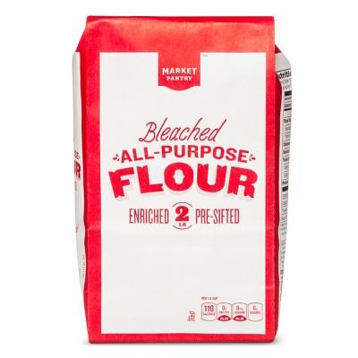 Flours & Meals: Market Pantry Bleached All Purpose Flour