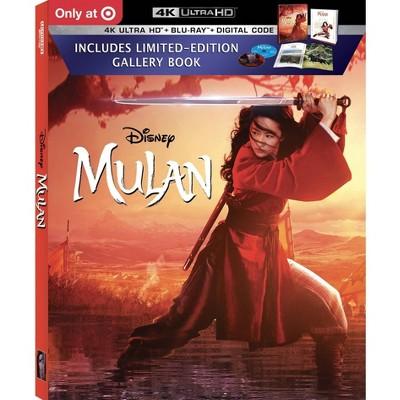 Mulan (Live Action) (Target Exclusive) (4K/UHD)