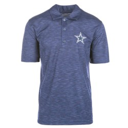 NFL Men's Short Sleeve Basic Polo Shirt Dallas Cowboys