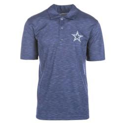 NFL Men's Short Sleeve Basic Polo Shirt Dallas Cowboys