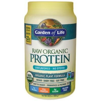 Garden of Life Organic Raw Protein Powder