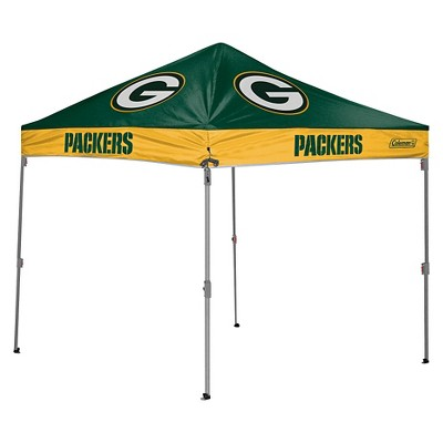 Coleman NFL Green Bay Packers 10'x10' Straight Leg Canopy Tent