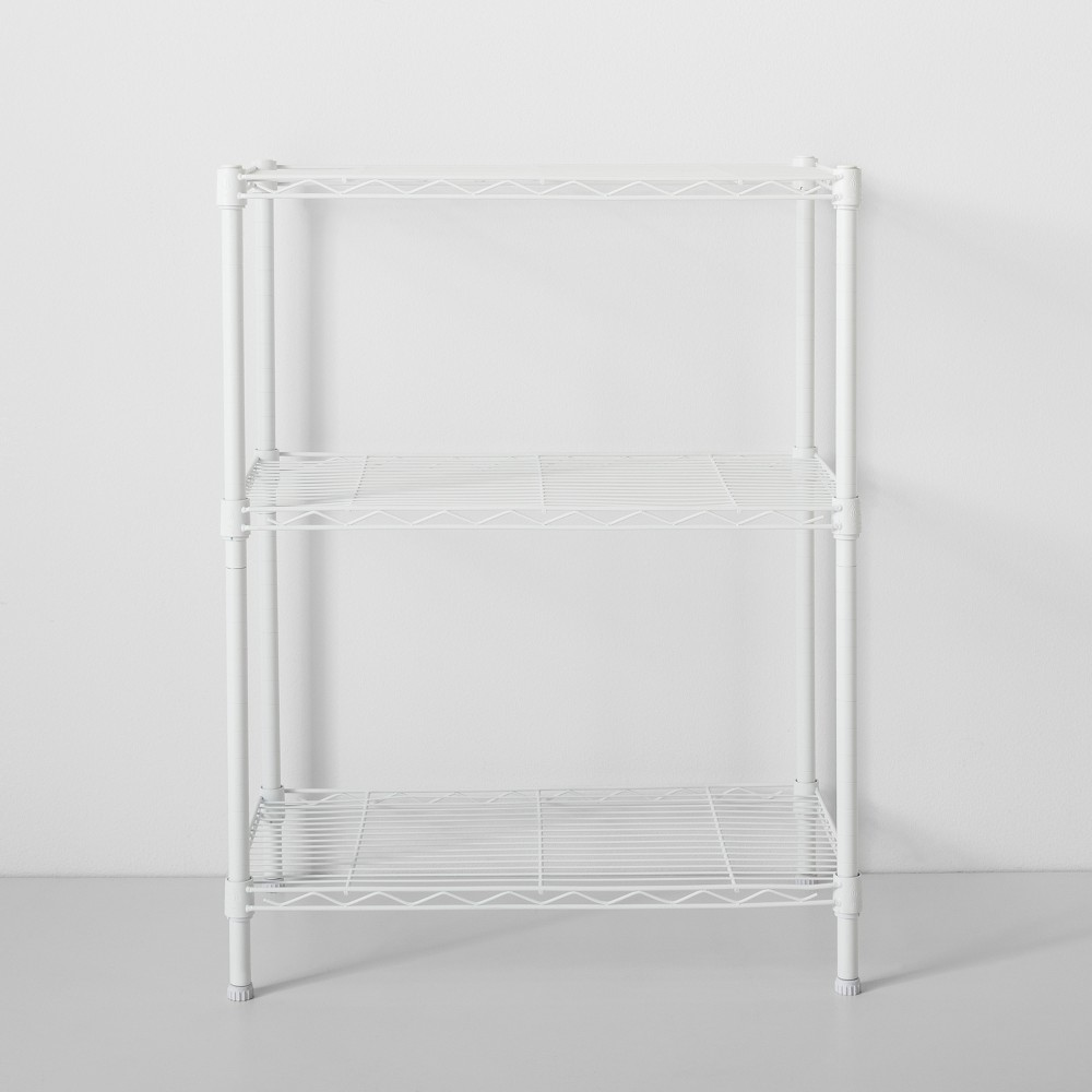 Image of 3 Tier Wire Shelf White - Made By Design