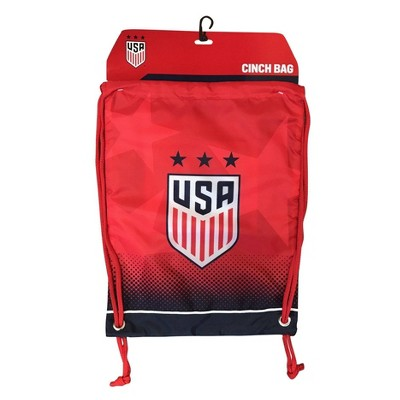 """United States Soccer Federation Woman's National Team Officially Licensed 18"""" Drawstring Bag"""
