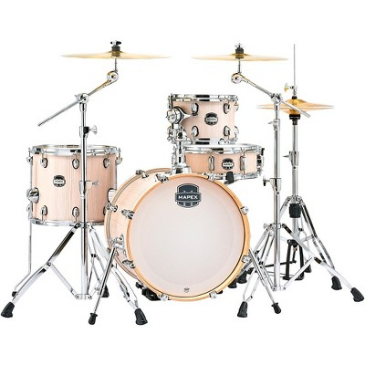 """Mapex Mapex Mars Series 4-Piece Bop Shell Pack with 18"""" Bass Drum Bonewood Chrome"""