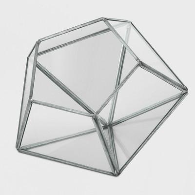 4  Novelty Glass Terrarium Galvanized - Smith & Hawken™
