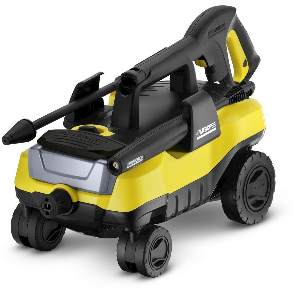 Image of 120 Volts, 1560 Watts Follow-Me 1800 Psi 1.3 Gpm Electric Power Pressure Washer With 4-Wheels - Yellow - Karcher