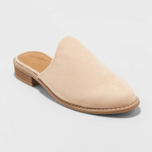 Women's Maura Microsuede Mules - Universal Thread™ - image 1 of 3