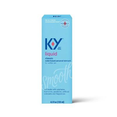 K-Y Liquid Personal Liquid Lube - 5.0 fl oz