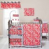 Trend Lab Red Flowers Diaper Stacker - image 2 of 2