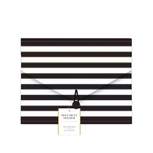 Undated Document Holder Roy G Biv - The Home Edit by Blue Sky - image 1 of 4
