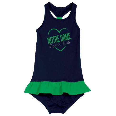 Notre Dame Fighting Irish After Her Heart Newborn/Infant Dress 18 M - image 1 of 2