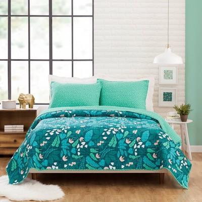 Jungle Floral Quilt Set - Elizabeth Olwen for Makers Collective