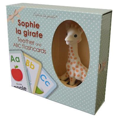 Sophie la Girafe + Flash Card Gift Set - Cream