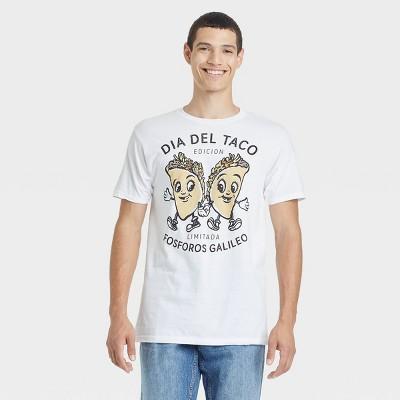 Men's Fosforos Galileo Taco Short Sleeve Graphic T-Shirt - White