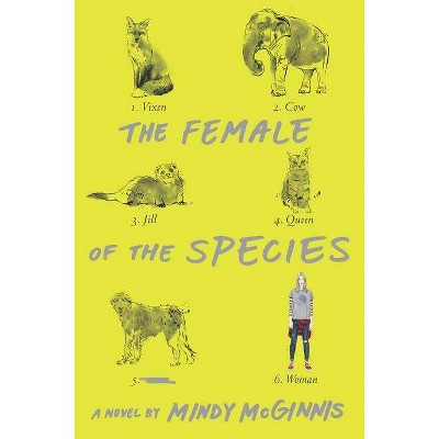 The Female of the Species - by  Mindy McGinnis (Paperback)