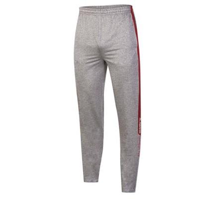 NCAA Alabama Crimson Tide Men's Gray Athletic Jogger Pants