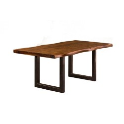 Solid Wood Live Edge - Dining Table - Timbergirl : Target