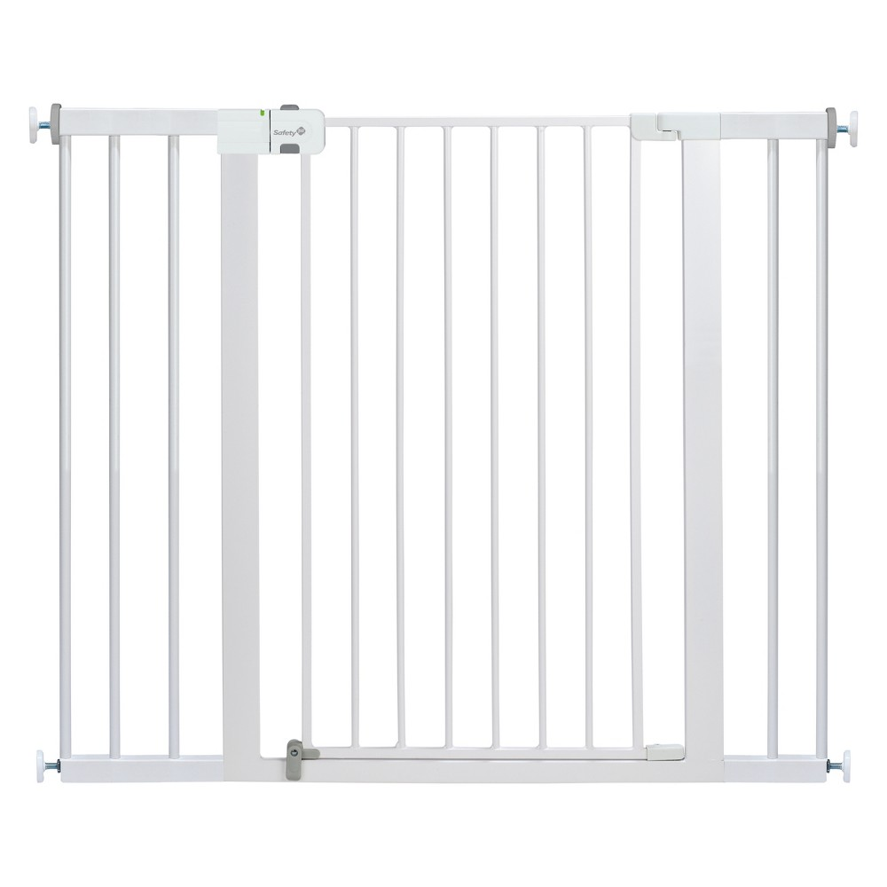 "Image of ""Safety 1st Extra Tall & Wide Gate, 36"""" High, Fits between 29"""" and 47"""", White"""